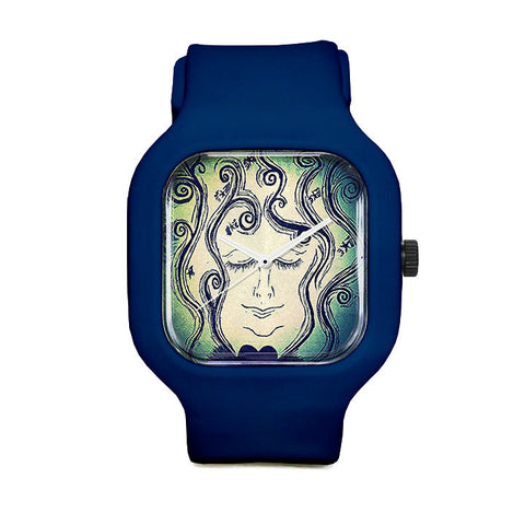 Playful Paisley Sport Watch