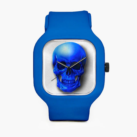 DarkBlueSkull Sport Watch