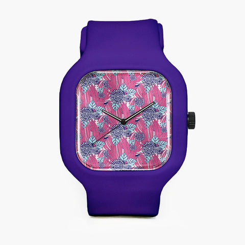 Tropic Flower Sport Watch