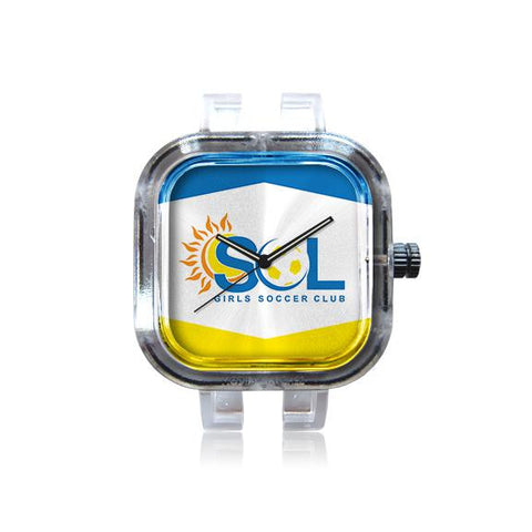 Sol Soccer Club Blue and Yellow Watch