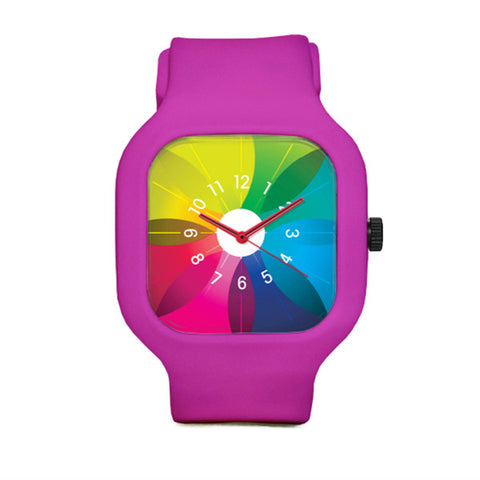Spectrum Watch with Pink Strap