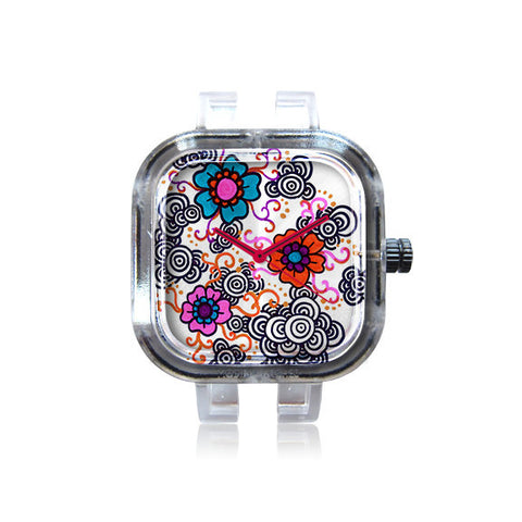 SSQIE Flowers and Circles Watch