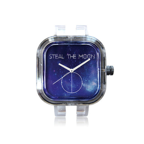 Steal the Moon Business Card Galaxy Watch