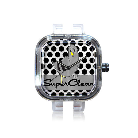 Superclean Society Poke a Dot Pigeon Watch