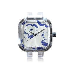 SurfaceNest Floral Blue Watch