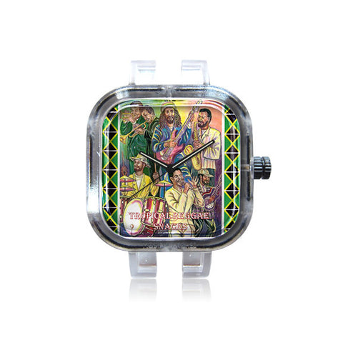 Tropical Reggae Snacks Band Watch