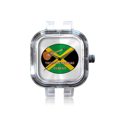 Tropical Reggae Snacks Guitar Watch