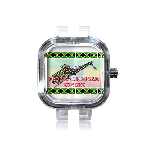Tropical Reggae Snacks Sax Watch