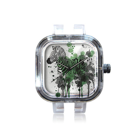 Green Zebra Watch