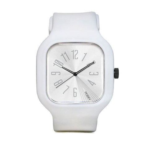 White Watch with White Strap