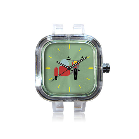 WLH Design Side Car Watch