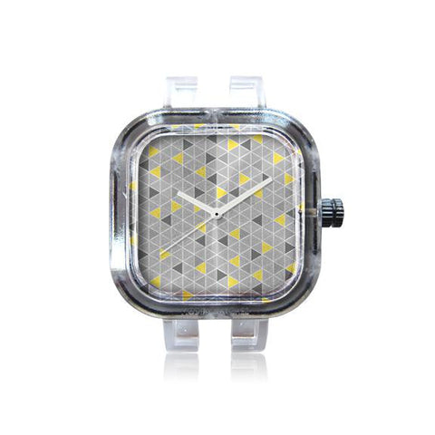 Yellow Triangles Watch