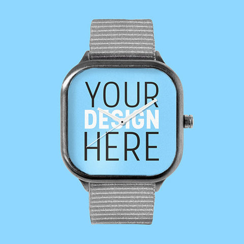 YOUR Custom Gunmetal Watch