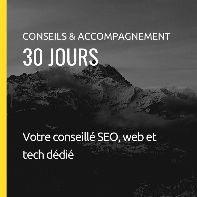 Coaching SEO : 30 jours d'accompagnement et analyses