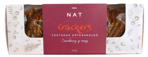Nat Crackers Cranberry Nuez