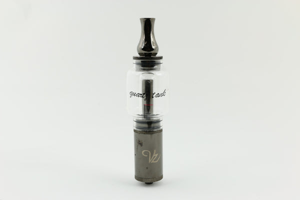 Q2 Glass Quartz Tank Bubbler Dry Atomizer 510