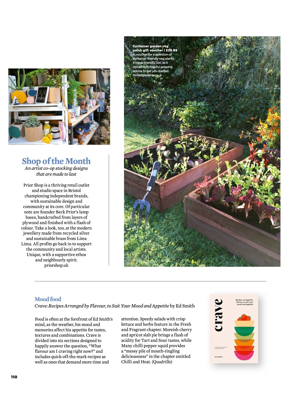 Prior Shop - The Simple Things Mag - Shop of the Month