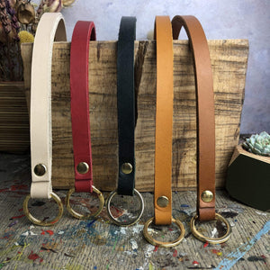 Couper et Coudre Lanyards Leather Lanyards (various colours)