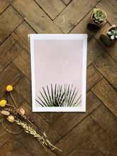 Load image into Gallery viewer, Do It Later Illustration Prints A4  (21 x 29.7cm) Pink Palm Print (various sizes)