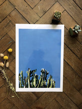 Load image into Gallery viewer, Do It Later Illustration Prints Cactus Print (various sizes)