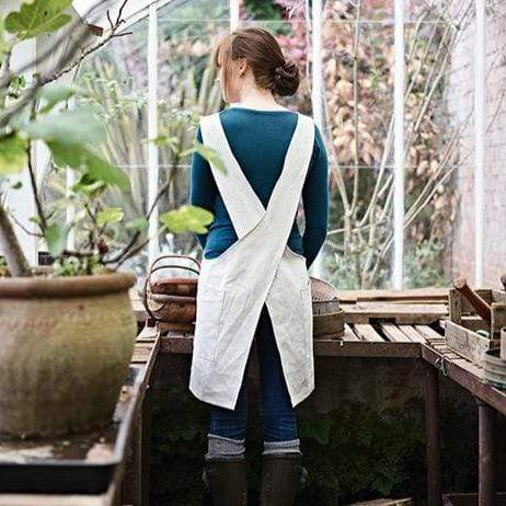 Fieldware Co Apron Irish Linen Crossover Apron/ Pinafore dress (various colours)