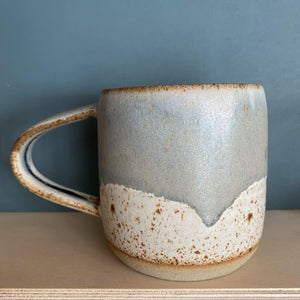 Jim Green Ceramics Blue Grey Dipped Mug