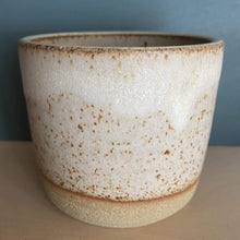 Load image into Gallery viewer, Jim Green Ceramics Dolomite White Dipped Beaker