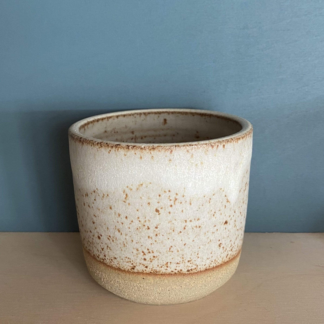 Jim Green Ceramics Dolomite White Dipped Beaker