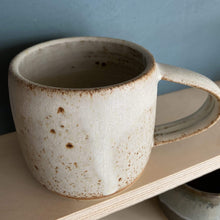 Load image into Gallery viewer, Jim Green Ceramics Dolomite White Dipped Mug
