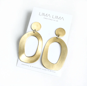 Lima Lima Earrings Brass Flora Earrings