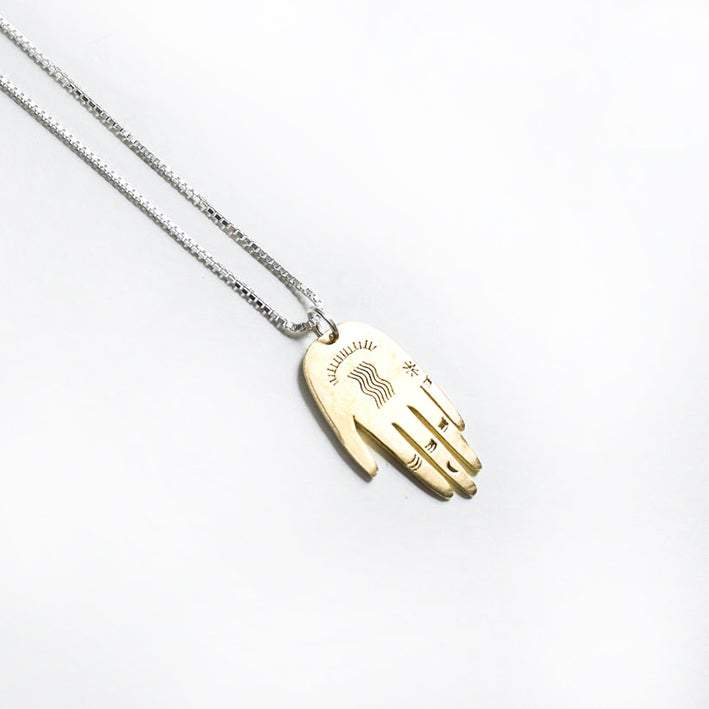 Lima Lima Necklace Palm Necklace (Brass or EcoSilver)