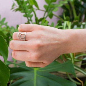 Lima Lima Ring Sunset Eco Silver Ring