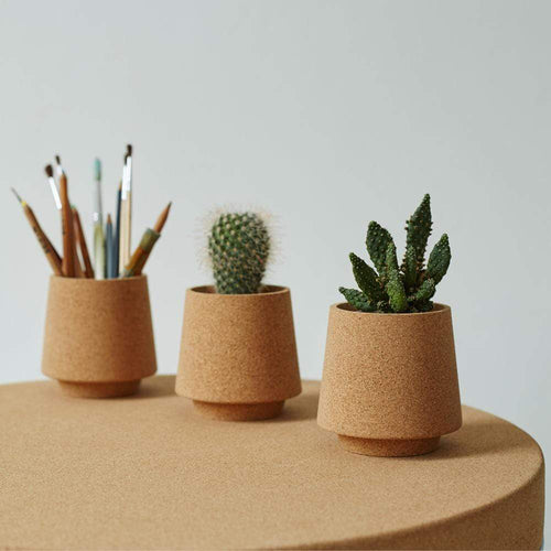 Mind The Cork Cork Planter ATLAS - Cork planter