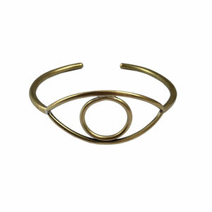 PRIOR SHOP Brass Eye Bangle