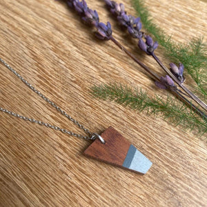 Priormade Prior Ipe - Ship Hatch - Greys Wooden Necklaces (with provenance)-various designs