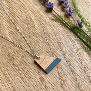 Priormade Prior Maple - Bowling Alley - Grey Wooden Necklaces (with provenance)-various designs