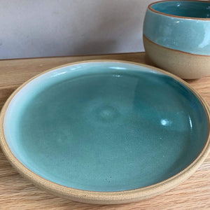Simone Potter Ceramics Side Plate- Turquoise