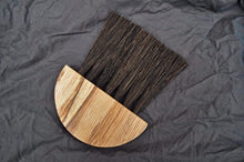 Load image into Gallery viewer, Slow Made Goods Brush Spalted Ash Table Brush with Gumati fibre (large)