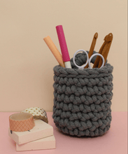 Load image into Gallery viewer, Stitching Me Softly Crochet Kit Easy Peasy Crochet Pot Kit