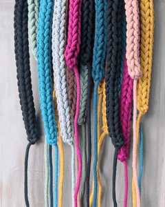 Stitching Me Softly Necklace Crochet Necklace (various sizes and colours)