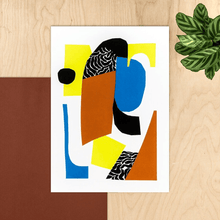Load image into Gallery viewer, Studio Fae Prints Aziza Giclée prints from original collages (various designs)