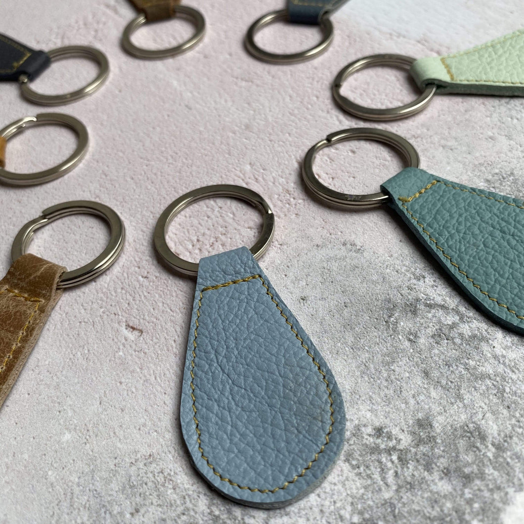 Zoe Dunn Designs Key Rings Leather Key Rings (various colours)