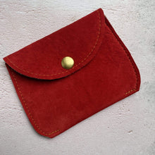 Load image into Gallery viewer, Zoe Dunn Designs Purse / Wallet Bright Red Purse - soft leather