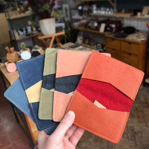 Zoe Dunn Designs Purse / Wallet Card wallet/holder - soft leather