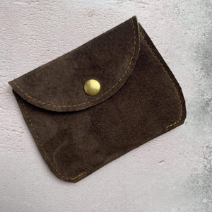Zoe Dunn Designs Purse / Wallet Dark Brown Purse - soft leather