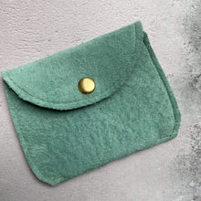 Load image into Gallery viewer, Zoe Dunn Designs Purse / Wallet Light Turquoise Purse - soft leather