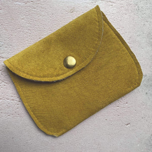 Zoe Dunn Designs Purse / Wallet Mustard Purse - soft leather