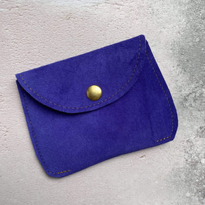 Zoe Dunn Designs Purse / Wallet Ultramarine Purse - soft leather
