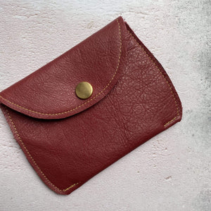 Zoe Dunn Designs Purse / Wallet Wine Purse - soft leather