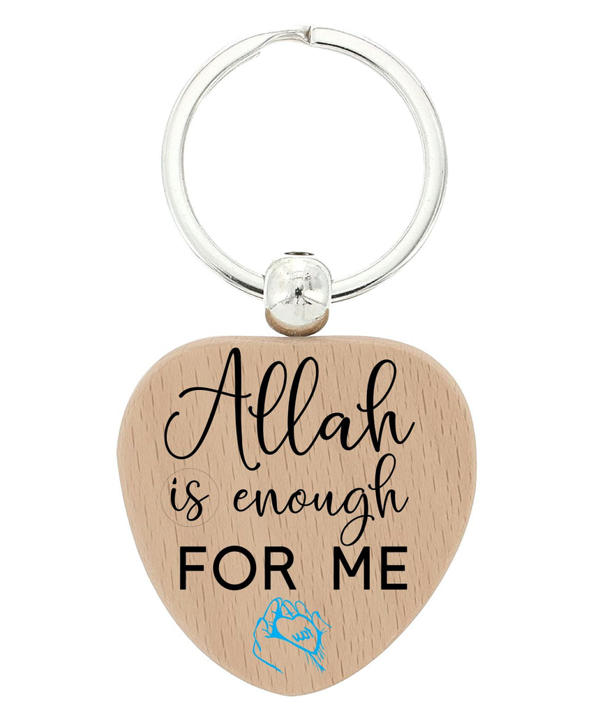 Islamic  Heart keychains Design 2